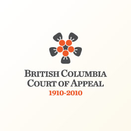 British Columbia Court of Appeal Centenary Logo