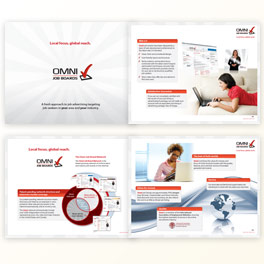 Omni Job Boards Brochure Design