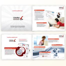 Omni Job Boards Brochure Design