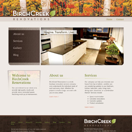 BirchCreek Renovations Website