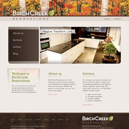 BirchCreek Renovations Website