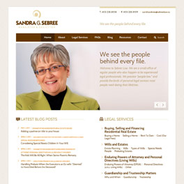 Sandra G. Sebree Website