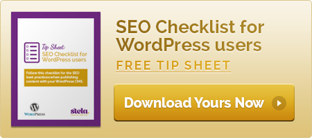 SEO Checklist for WordPress Users