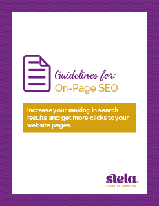 On-Page SEO Guidelines cover