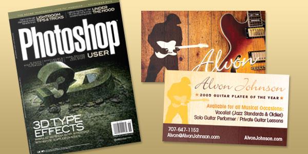 Photoshop User Magazine - Design Makeover