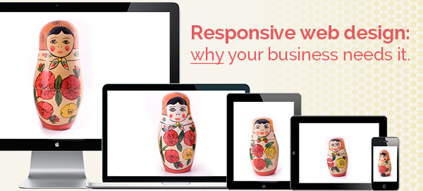 Responsive website design– Why your business needs it