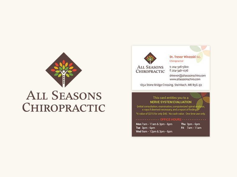 All Seasons Chiropractic Brand ID