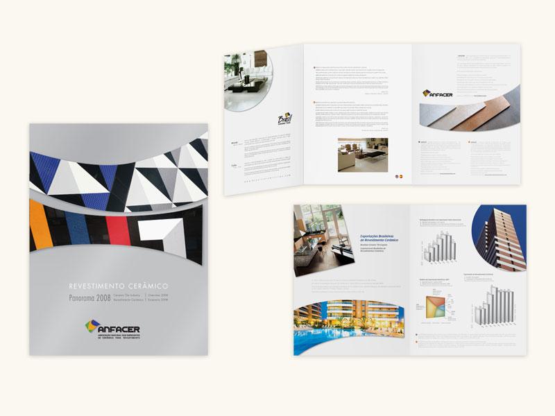 Anfacer Annual Report Design 2008