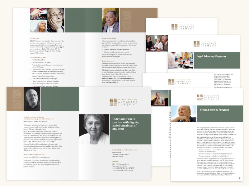 BC Centre for Elder Advocacy Support Brochure