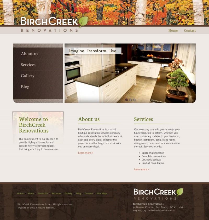 Birchcreek Renovations