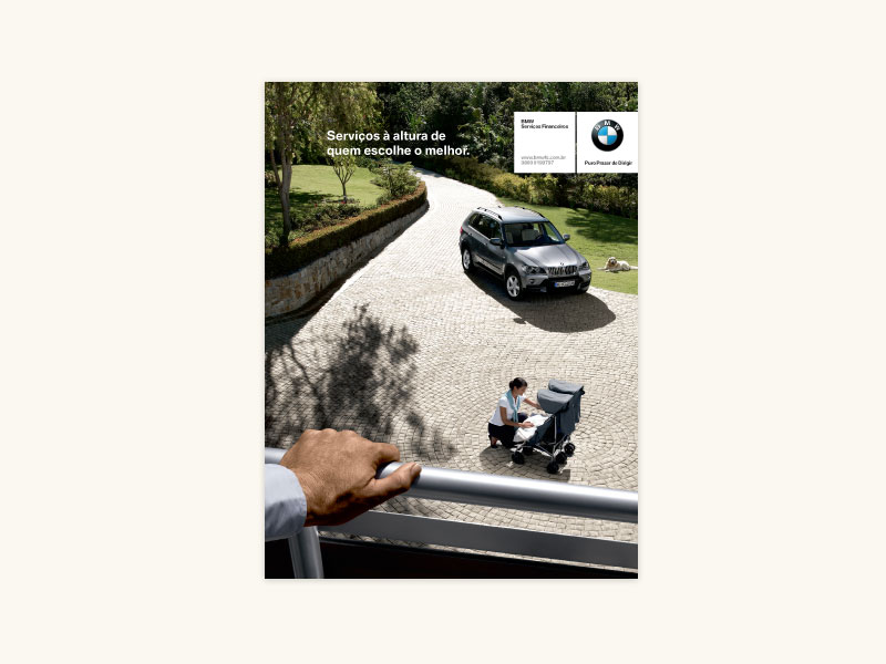 BMW Financial Services Print Ad