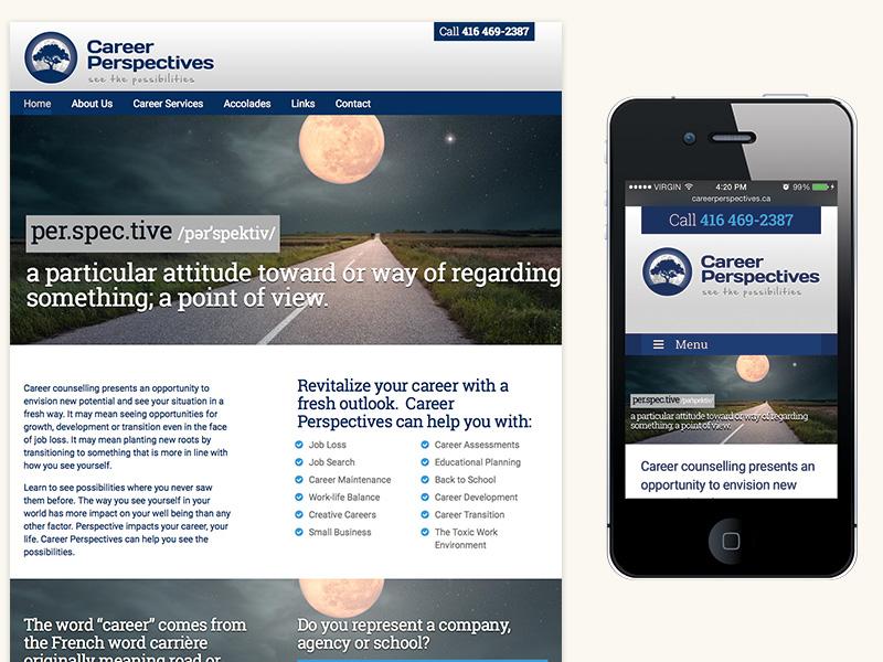 Career Perspectives Website Design & Development
