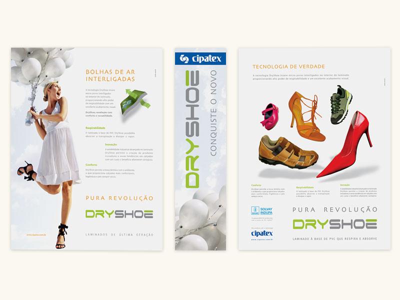 Cipatex: DryShoe Print Ad Campaign