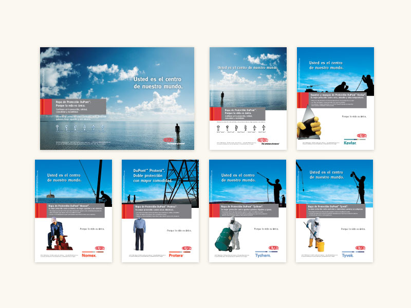 DuPont™ Print Ad Campaign 2008