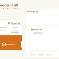 George & Bell Consulting Brand & Collateral Design