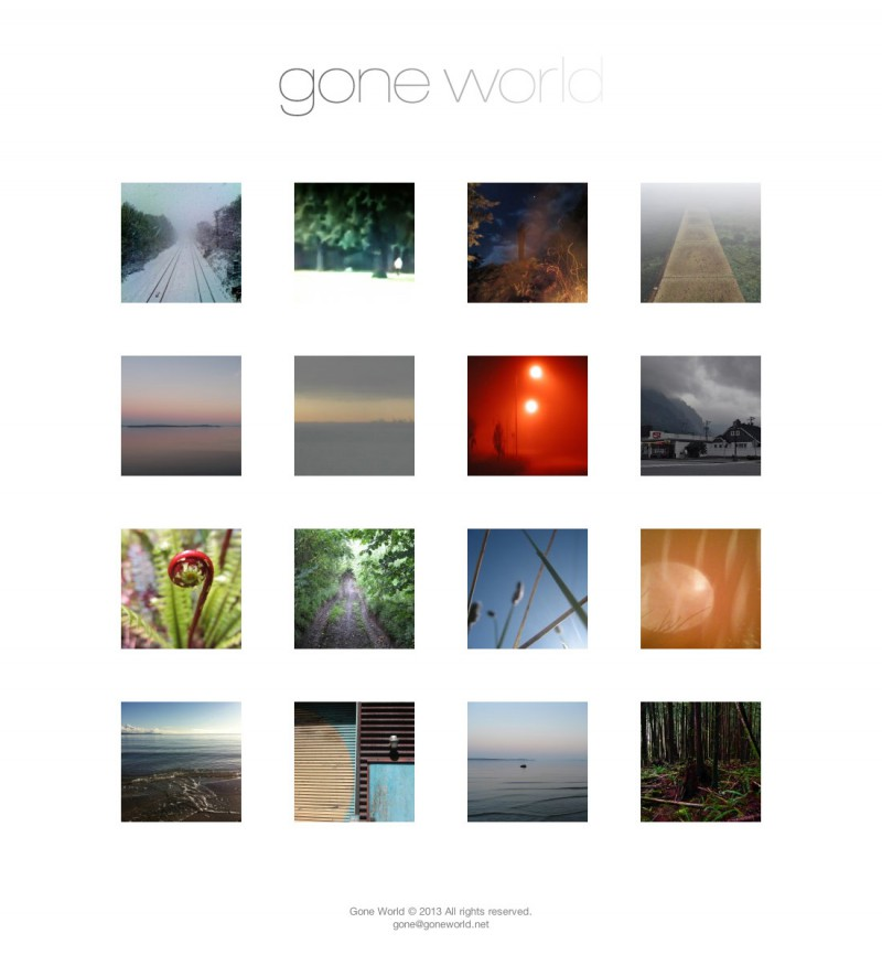 gone world Website