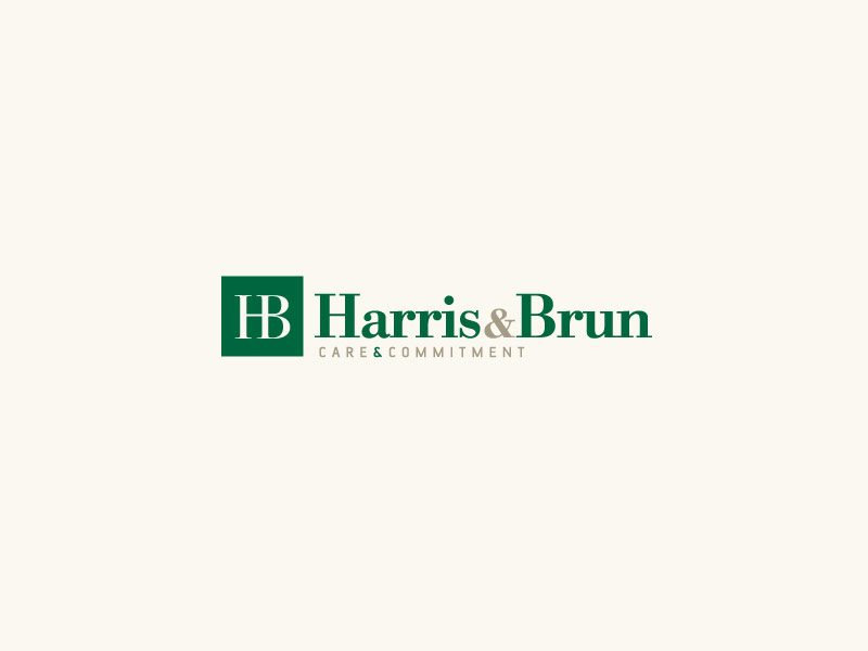 Harris Brun Lawyers Brand Design