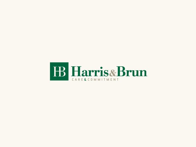 Harris Brun Lawyers Brand Design