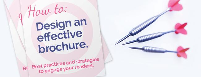 How to design effective brochure