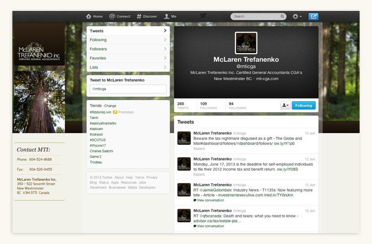 McLaren Trefanenko Inc. Twitter