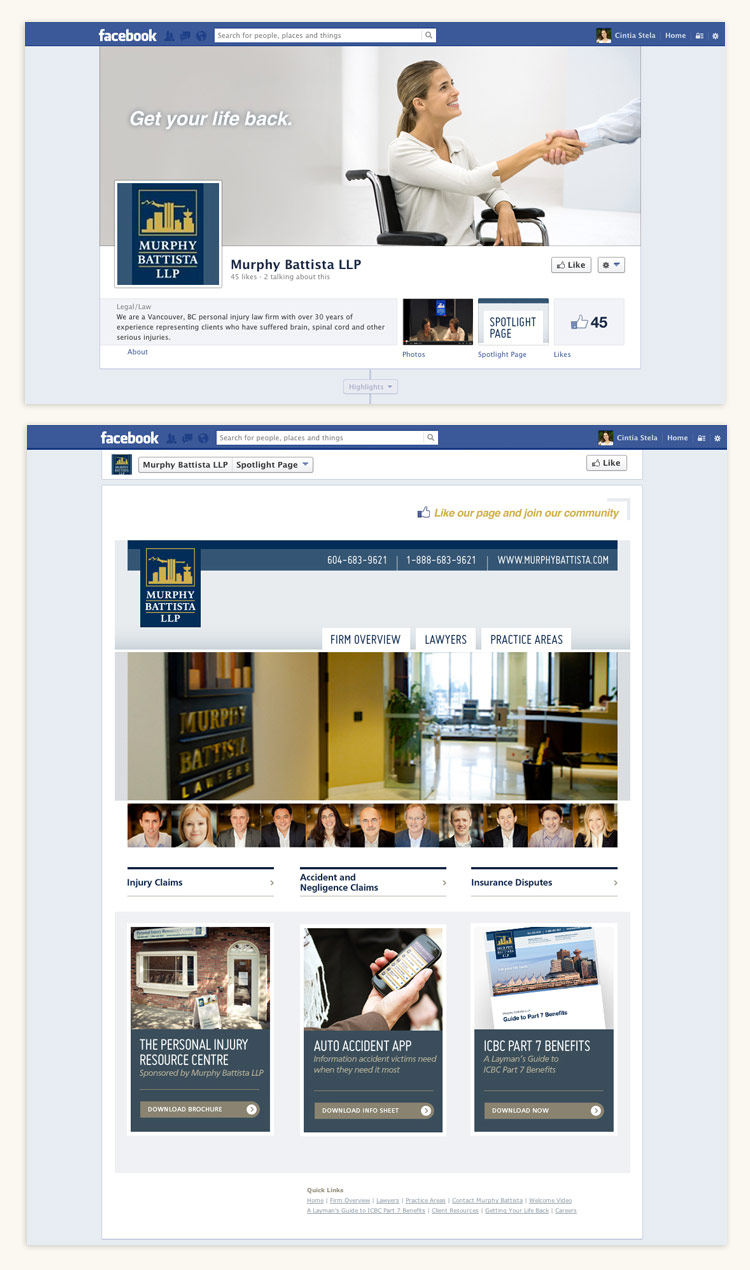 Murphy Battista LLP Facebook