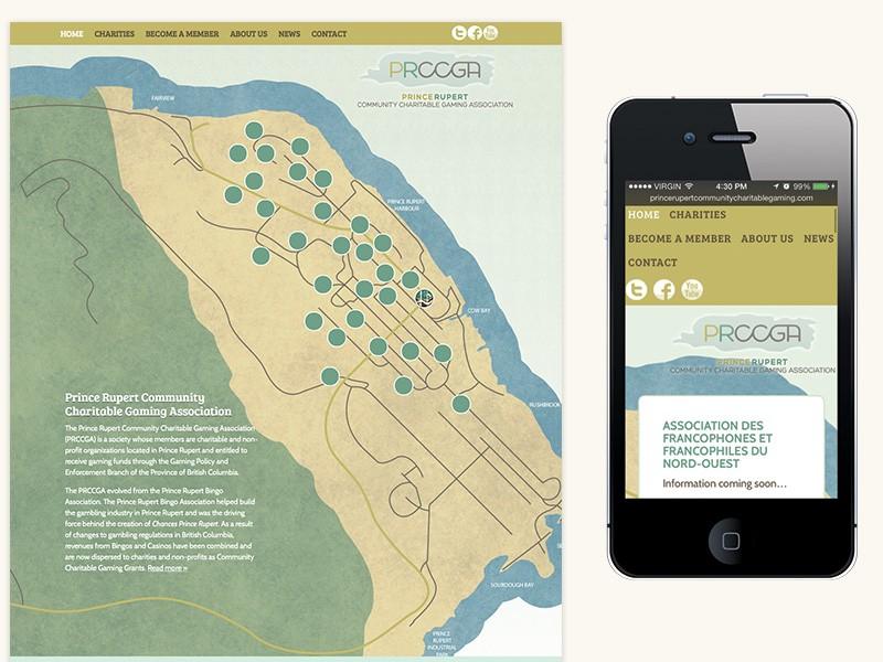 PRCCGA Website Design & Development