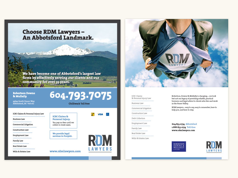 RDM Lawyers Brand Ads