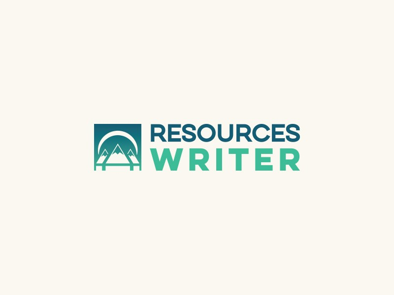 Resources Writer Logo Design