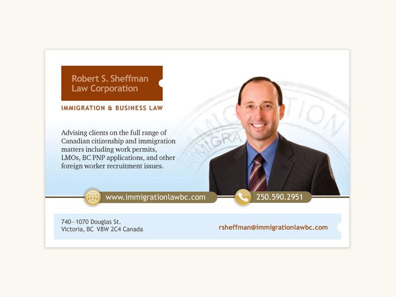 Robert S. Sheffman Law Corporation Print Ad*