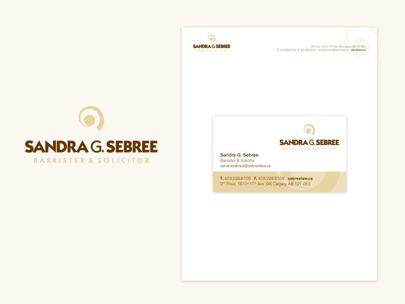 Sandra G. Sebree Brand & Collateral Design