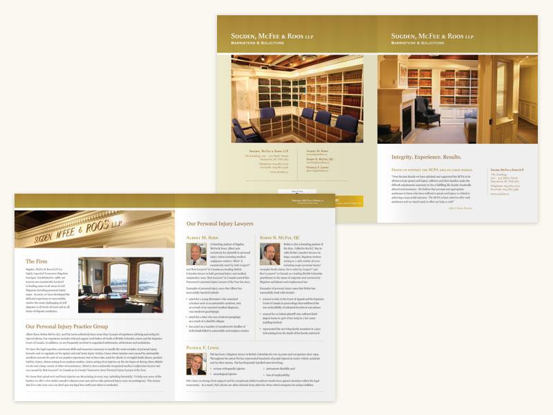 Sugden McFee Roos LLP Brochure