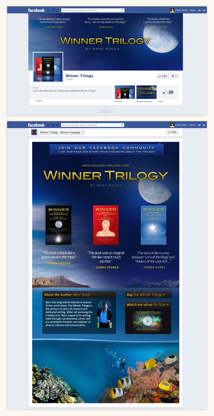 Winner Trilogy Facebook