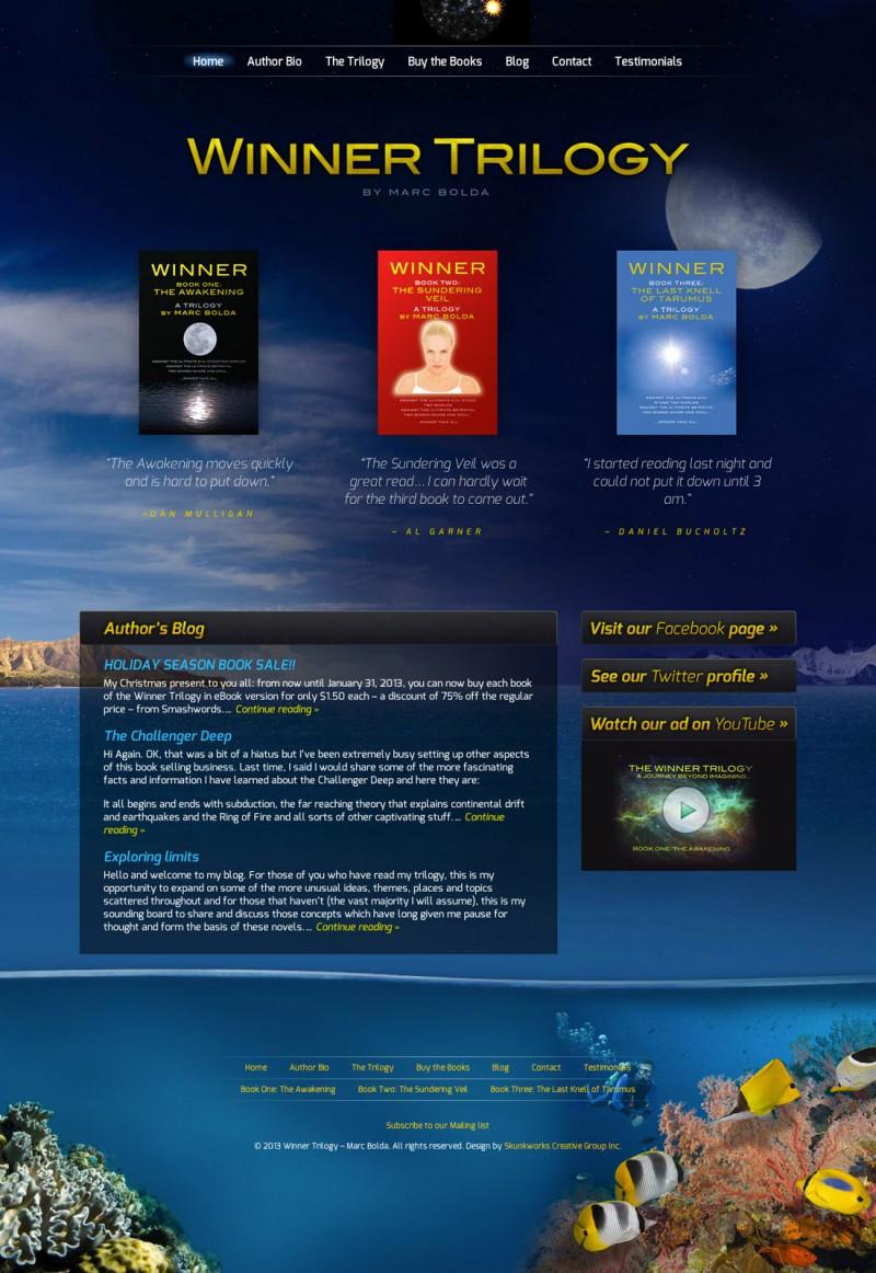 Winner Trilogy Website